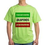 Jalapeno Lover Green T-Shirt