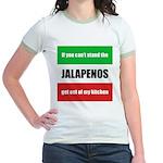 Jalapeno Lover Jr. Ringer T-Shirt