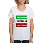 Jalapeno Lover Women's V-Neck T-Shirt