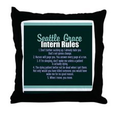 seattlegracejournal Throw Pillow