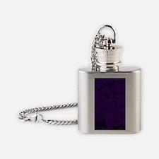 purple Flask Necklace
