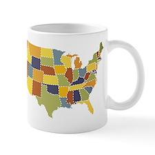 usa map puzzle Mug