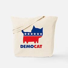 DEMOCAT Yard Sign Tote Bag