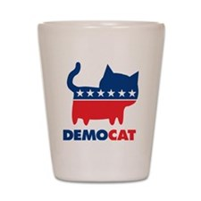 demoCAT party Shot Glass