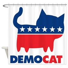 demoCAT party Shower Curtain