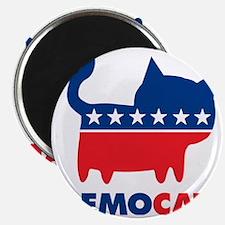 demoCAT party Magnet