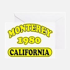 monterey4 copy Greeting Card