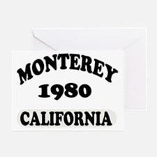 monterey copy Greeting Card