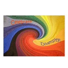 Celebrate Diversity puzzl Postcards (Package of 8)