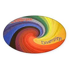 Celebrate Diversity puzzle Decal