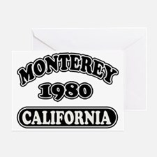 monterey23 copy Greeting Card