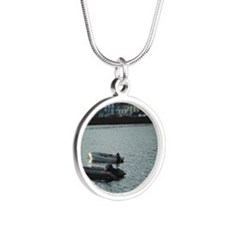 tobermory_seasonsend Silver Round Necklace