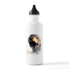 buddah grundge copy Water Bottle