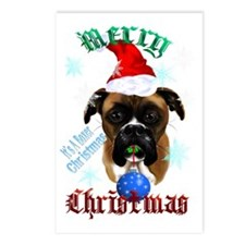 Merry Christmas-Santa Box Postcards (Package of 8)