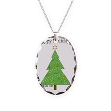CHEMISTREE CARD white Necklace