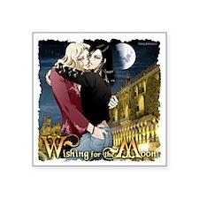 "WishingForTheMoon Square Sticker 3"" x 3"""
