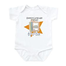 Cute Speech therapy Infant Bodysuit