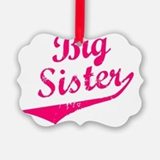 Big Sister Picture Ornament
