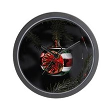 redgreen_ornament_10x10 Wall Clock