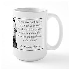 """Castles in the Sky"" Mugs"