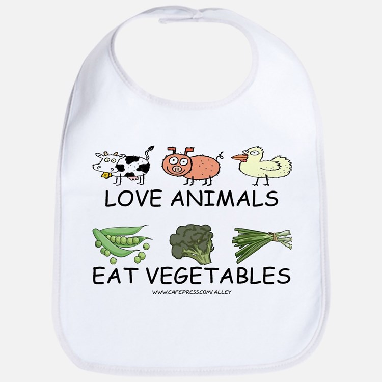 Love Animals Bib