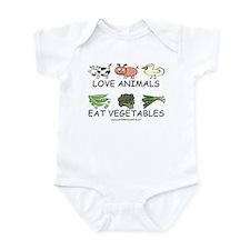 Love Animals Infant Bodysuit