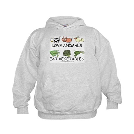 Love Animals Kids Hoodie