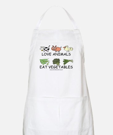 Love Animals BBQ Apron