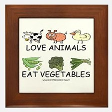 Love Animals Framed Tile