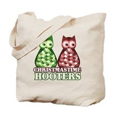 funny adult christmas hooters Tote Bag