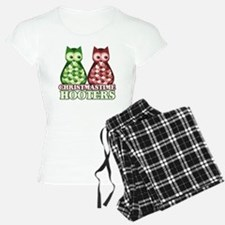 funny adult christmas hoote Pajamas