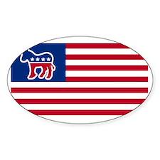 democrat USA election Decal