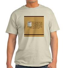 morningcoffeejournal Light T-Shirt