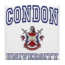 CONDON University Tile Coaster