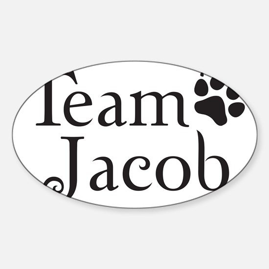 teamjack Sticker (Oval)