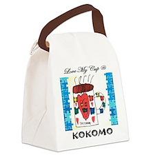 Love my cup @ Kokomo Canvas Lunch Bag