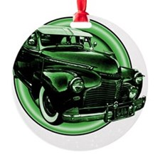 low and slow green 10x10_apparel Ornament