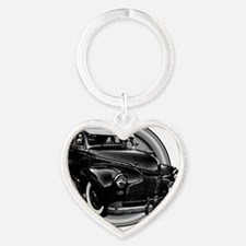 low and slow 10x10_apparel Heart Keychain