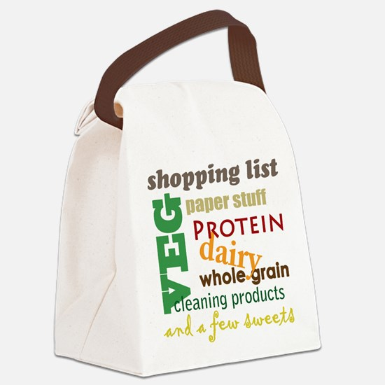 shopping bag Canvas Lunch Bag