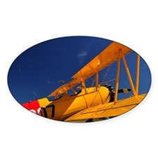 Calendar Shots, Plane Blue Sky (1)  Decal