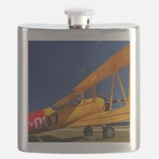 Calendar Shots, Plane Blue Sky (1) 3 sharpen Flask
