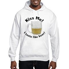 Kiss Me Beer Hoodie