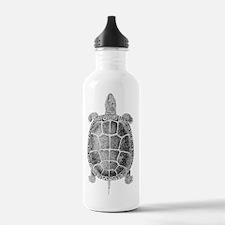 Turtle Vintage Sports Water Bottle