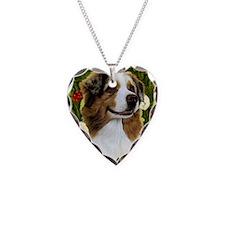 Seasonal Aust Shep Necklace