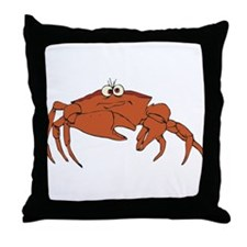 Crab Throw Pillow