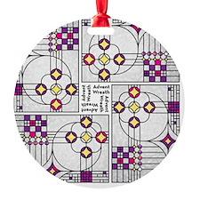 AdventWreathTile02 Ornament