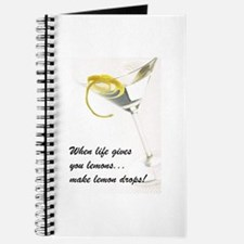 Lemon Drop Martini Journal