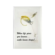 Lemon Drop Martini Rectangle Magnet