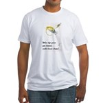 Lemon Drop Martini Fitted T-Shirt