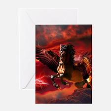 Pegasus 2copy Greeting Card
